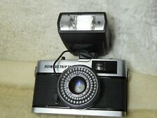 OLYMPUS TRIP 35 camera - fully working  film tested. vgc working well + flash