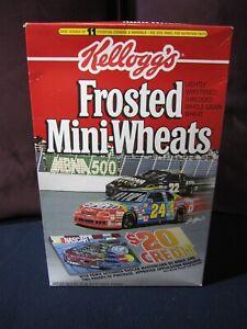 Jeff Gordon & Bobby Labonte-1995 Kellogg's Frosted Mini-Wheats Box Cover--NASCAR