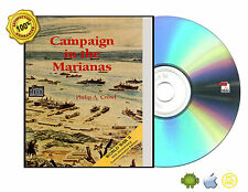 """U. S. Army in World War II """"Campaign in the Marianas the War in the Pacific"""" CD"""