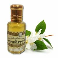 Kazima Jasmine Grandiflorum Attar Perfume For Unisex Pure Natural 10ml