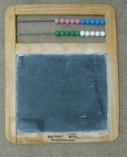 "Counting and Chalk board educational toy Made In Portugal 10 5/8"" x 8 5/8"""