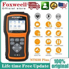 Foxwell Nt630 Plus Abs Bleeding Srs Sas Obd2 Code Reader Diagnostic Scanner Tool