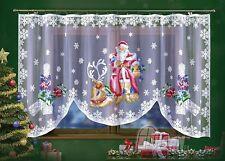 JARDINIERE NET CURTAIN Interior Design Home Decoration Christmas Santa Clause