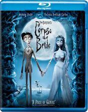 Tim Burton'S Corpse Bride New Sealed Blu-ray Johnny Depp
