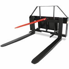 "Titan 36"" Pallet Fork Attachment w/39"" Hay Bale Spear Toro Dingo Mini Skid Steer"