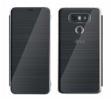Original LG G6 Smart Quick Book Flip Cover Case CFV-300 Schutzhülle schwarz