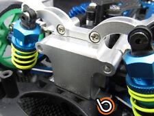 TAMIYA TT01 TT-01 FRONT DAMPER PLATE GEAR BOX CNC ALUMINIUM ALLOY BLUE by Blitz