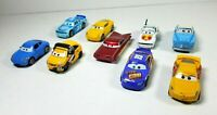 Disney Pixar Cars Lot of 9 McQueen Sally Ramone Kargas Bobby Swift Die Cast
