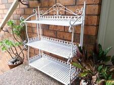 Handmade Country Style 3 Tier Shelf Rack Stand Shoe Organizer Storage WHITE001
