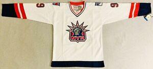 1998 Wayne Gretzky New York Rangers Alternate White Jersey Size Men's Large