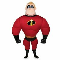 """Disney Authentic Pixar Incredibles 2 Mr. Incredible Plush Toy Doll 19 1/2""""New"""