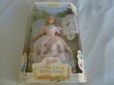 NEW COLLECTOR EDITION BARBIE DOLL THE TALE OF PETER RABBIT BEATRIX POTTER 19360