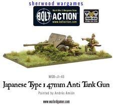 28mm Warlord Games Imperial Japanese Type 47mm AT Gun BNIB WWII Bolt Action,