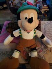 "New listing Disney Sega 16"" Mickey Mouse Stuffed Plush Animal Doll Toy"