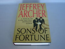 Jeffrey Archer Hardcover Book SONS OF FORTUNE 1st Edition Like New