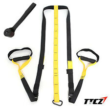 A Set of TRX - Suspension Trainer Fitness Straps System - Suitable for Crossfit