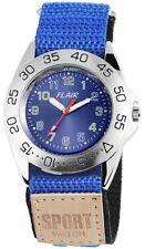 Markenlose Quarz - (Batterie) Armbanduhren aus Textilgewebe
