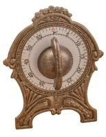 Victorian Trading Co Vintage Style Brass Kitchen Timer
