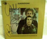 ***Simon & Garfunkel signed lp Bridge over Troubled Water Paul Simon & Art***