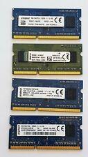 Kingston 4GB DDR3L 1600MHz Laptop RAM ~ PC3L-12800S SODIMM Memory 1Rx8 1.35v 204