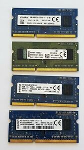 Kingston 4GB DDR3L 1600MHz Laptop RAM ~ PC3L-12800S SODIMM Memory 1Rx8 1.35v 204