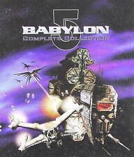 Babylon 5:Complete Series Season 1 2 3 4 5+Movie+Crusade(39-DVD Set)Box NEW B5