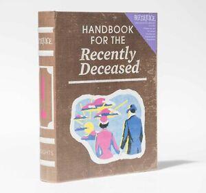BEETLEJUICE Handbook for the Recently Deceased NOTECARD Set KEEPSAKE BOX