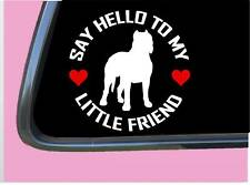 "Dogo my Little Friend Tp 1043 vinyl 6"" Decal Sticker argentine"