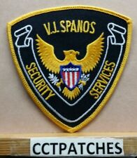 VJ SPANOS SECURITY SERVICES (POLICE) SHOULDER PATCH