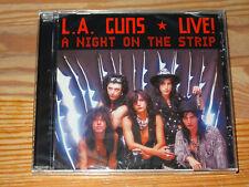 L.A. GUNS - A NIGHT ON THE STRIP / ALBUM-CD 2010 OVP! SEALED!