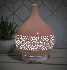 Colour Changing Ceramic Aromatherapy Humidifier - Pink