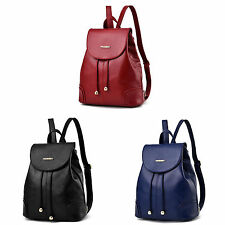 Women Girls PU Leather Messenger Handbag Backpack Hobo Bag Satchel Tote Purses
