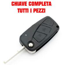 GUSCIO CHIAVE TASTI 3 COVER TELECOMANDO PER FIAT PANDA DUCATO PUNTO GRANDE BRAVm