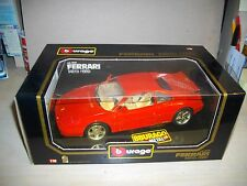 NEW Boxed 1:18th Scale Diecast Car Burago FERRARI 348 TB 1989