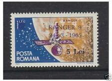 Mint Never Hinged/MNH Space Romanian Stamps