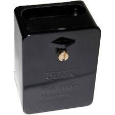 Click 100 amp Single Pole 5 x 35mm Square Link Box - Tails Connector Box - WA227
