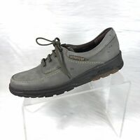 Mephisto City Hiker Air Jet Women's Oxfords Gray Soft Leather Lace Up Size 9