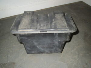 CRAFTSMAN LAWN TRACTOR MODEL 917271141 BATTERY BOX CASE 156417