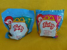 1998 McDonald's Furbies (Furby) Set of TWO (2) #1 & #2 BRAND NEW Factory sealed