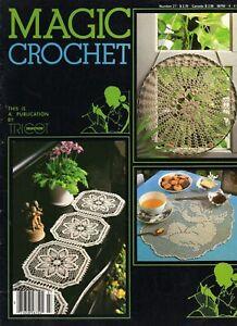 Magic Crochet Magazine #27 Doilies