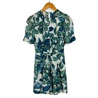 Reformation Womens Dress Size XS (AU 6) Floral Gorgeous Short Sleeves RRP $400