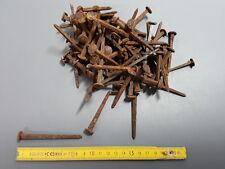 Lot de pointes anciennes fer forgé vieux clous french antique