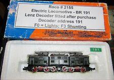 ROCO 02155a  DB BR191 DCC FITTED GBC N GAUGE