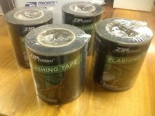 New listing Huber Zip System Flashing Tape (4) Rolls 6in x 75ft each Free Shipping