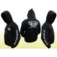 NEW BIKERS GEAR MOTORCYCLE KEVLAR® LINED HOODIE FULLY REINFORCED CONSTRUCTION
