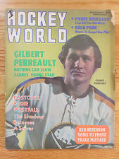 Hockey World Dec 1971 GILBERT PERREAULT BUFFALO SABRES No Label Magazine
