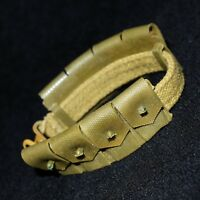 Action Man Palitoy 1st Issue Belt With Adjuster + Ammo Pouches 4 Combat Soldier