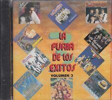 Pedro Fernandez Los Fugitivos La Furia De Los Exitos Vol 3 CD New Sealed