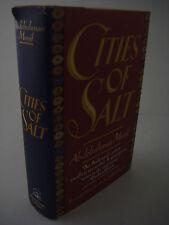 1st Edition CITIES OF SALT Abdelrahman Munif ARAB Fiction FIRST PRINTING Classic