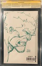 DAVID FINCH ORIGINAL Sketch Art CGC 9.6 Signed Incredible HULK Comic Avengers